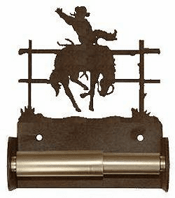 Bronco Toilet Paper Holder (Spring Bar)