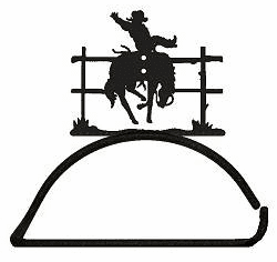 Bucking Bronco Design Paper Towel/Toilet Paper Holder
