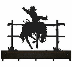 Bucking Bronco Key and Accessory Holder