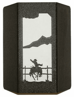 Bucking Bronco Sconce Wall Light