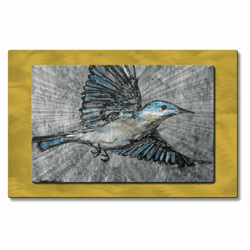 Buhbye Bluebird Wall Decor