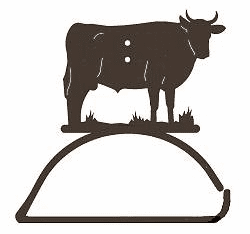 Bull Design Paper Towel/Toilet Paper Holder