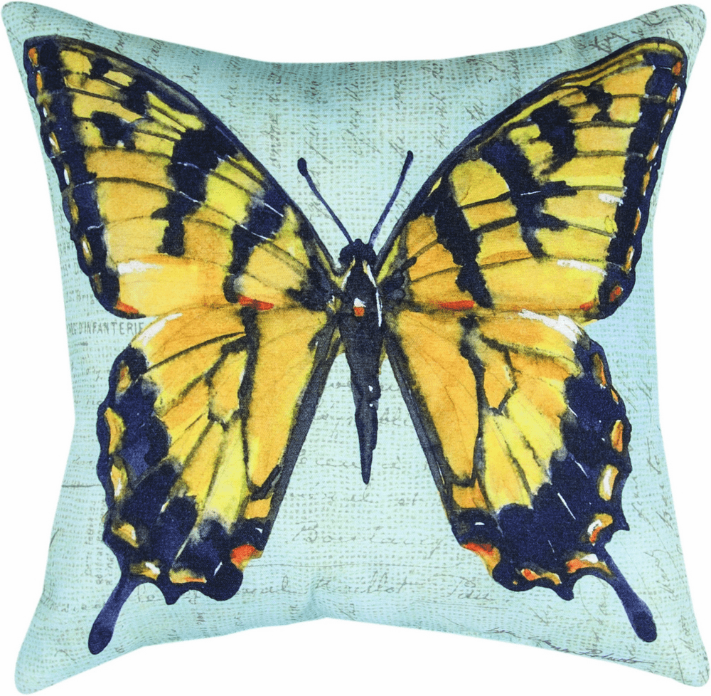 Butterfly Wings Monarch Climaweave Pillow
