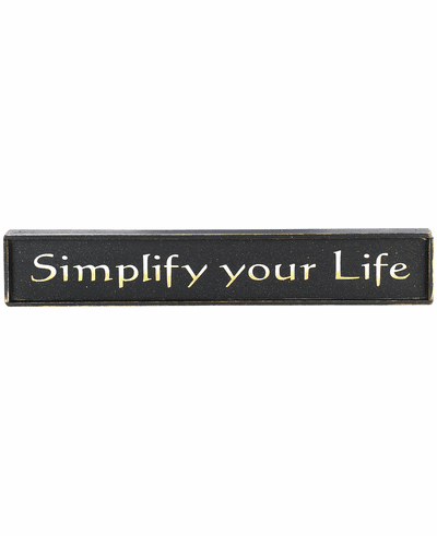 Cabin Decor - Simplify Your Life