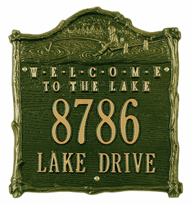 Cabin Lake Plaques