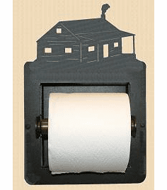 Cabin Toilet Paper Holder (Recessed)