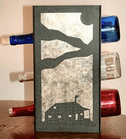 Cabin Wine Bottle Rack