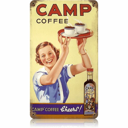 Camp Coffee Roadside Diner Sign