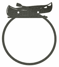 Canoe Towel Ring