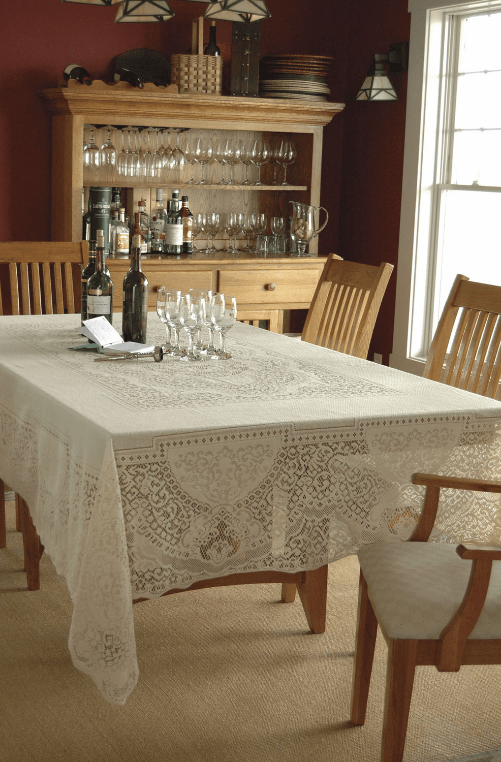 Canterbury Classic Large Rectangle Tablecloth