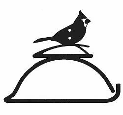 Cardinal Design Paper Towel/Toilet Paper Holder