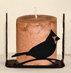 Cardinal Four Sided Candle Holder