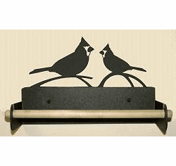 Cardinal Paper Towel Holder With Wood Bar