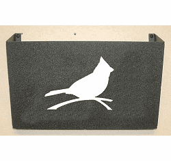 Cardinal Wall Mount Magazine Rack