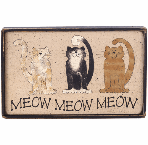 Cat Lover Gift - Meow Meow Meow
