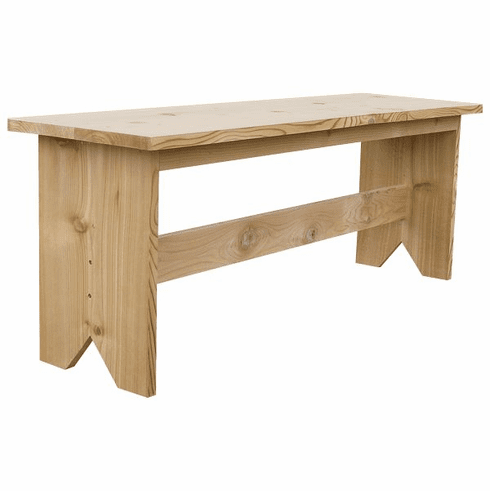 Cedar Farm Bench, 48 inch wide