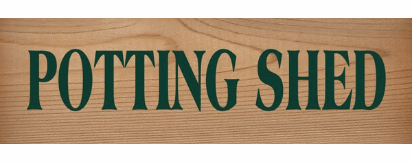 Cedar Sign...Potting Shed (Cedar)