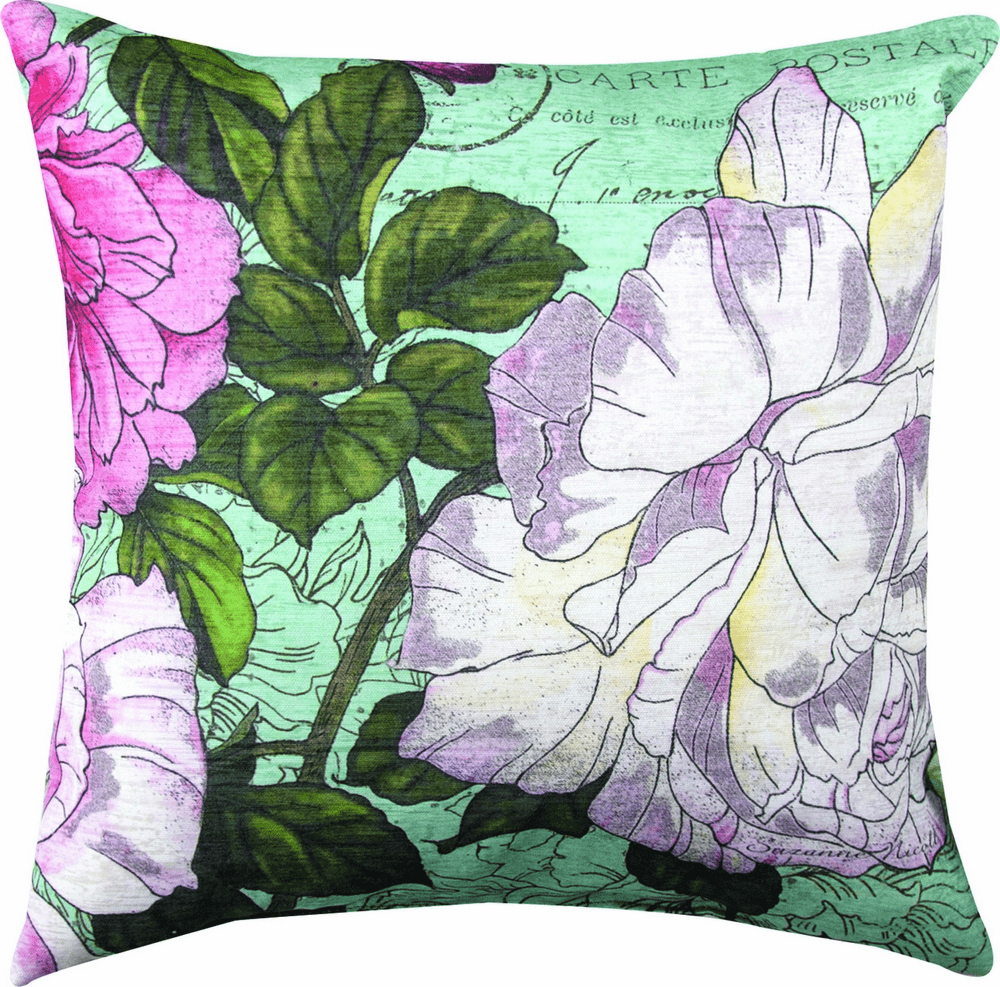 Centifolia II Flower Climaweave Pillow