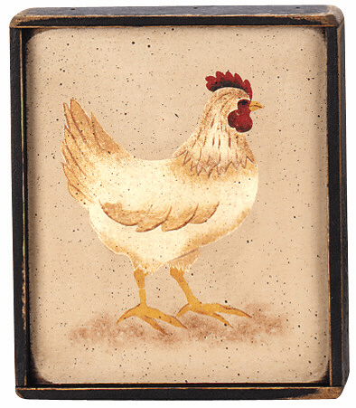 Chicken Decor - Hen (small)