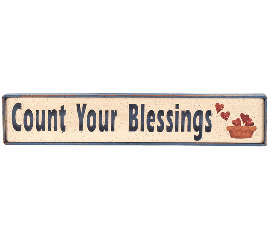 Christian Gift - Count Your Blessings