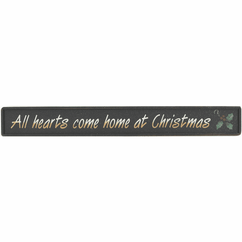 Christmas Gift - All hearts come home at Christmas