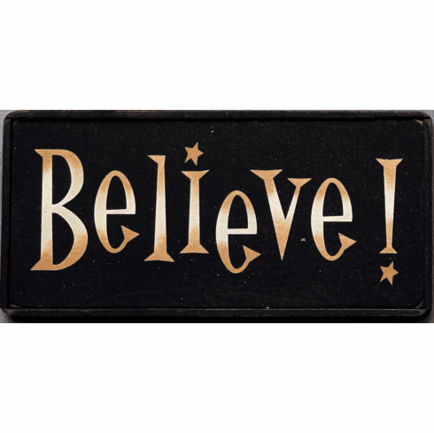 Christmas Ornament - Believe!
