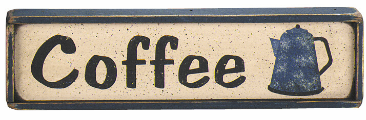 Coffee Sign - Coffee (Mini)