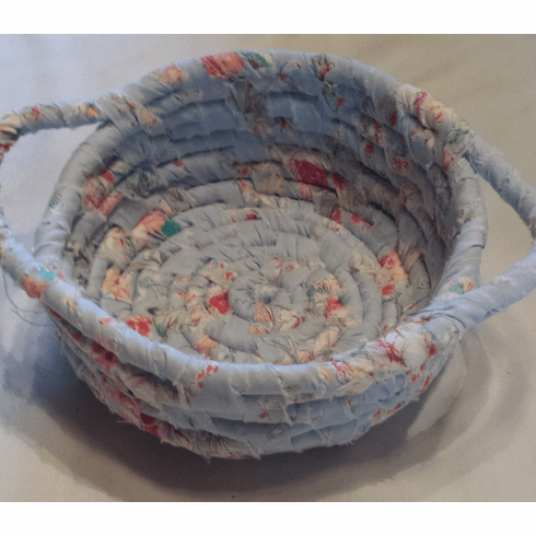 Coiled Basket, Side Handles