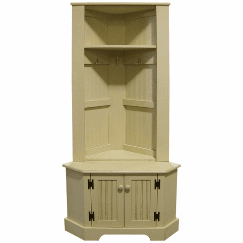 Corner Locker, 50 inch tall
