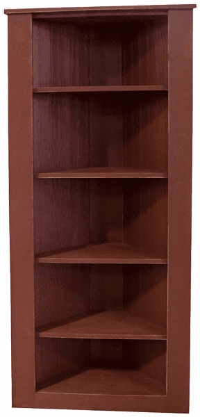 Corner Shelf Unit, 30.5 inch wide