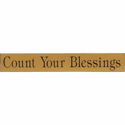 Count Your Blessings - Religious Gift