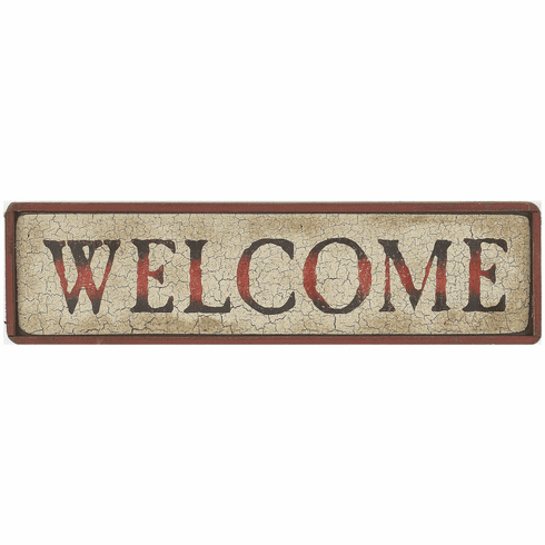 Country Decorating - Welcome (Horizontal)