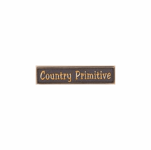 Country Primitive