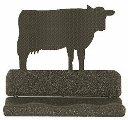 Cow Business Card Holder