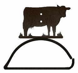 Cow Design Paper Towel/Toilet Paper Holder
