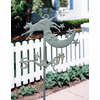 Cow & Moon Lawn or Garden Weathervane - Rustic Garden