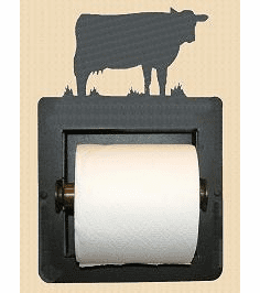 Cow Toilet Paper Holder (Recessed)