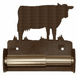 Cow Toilet Paper Holder (Spring Bar)