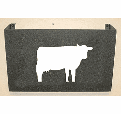 Cow Wall Mount Magazine Rack
