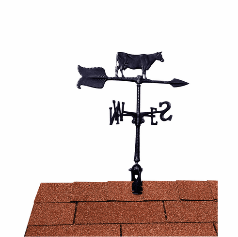 Cow Weathervane - Farm Animal Design