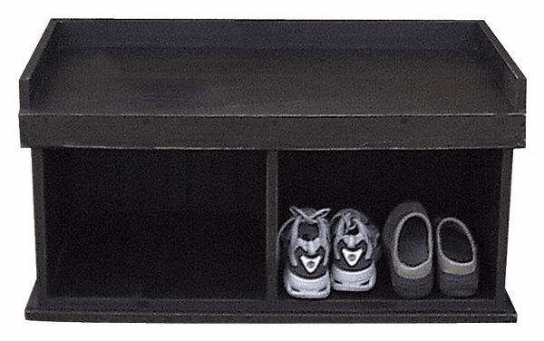 Cubby Bench, 36 inch wide