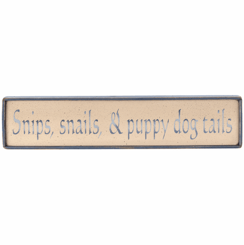 Decorating a Boy's Room - Snips, snails, & puppy dog tails