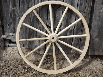 Handmade Wagon Wheels