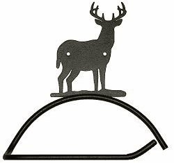 Deer Design Paper Towel/Toilet Paper Holder
