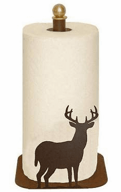 Deer Paper Towel Holder