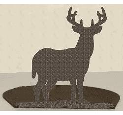 Deer Silhouette Candle Holder
