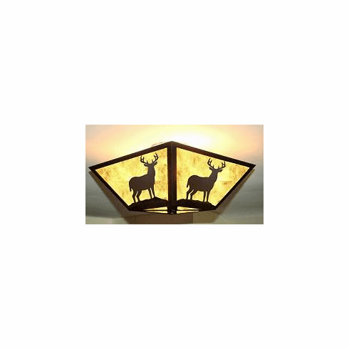 Deer Square Ceiling Light