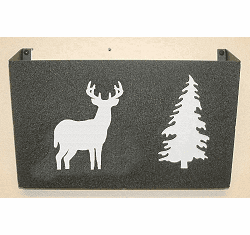 Deer Wall Mount Magazine Rack