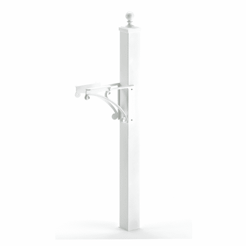 Deluxe Post & Brackets With Ball Finial