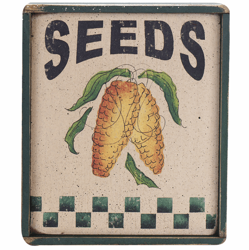 Dining Room Decorating - Seed Packet (Corn)